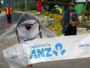 Kat the Shark wins five kilometre Lalomanu race