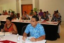 Sharing experiences on global climate change finance, a key feature of the Samoa Climate Finance Forum