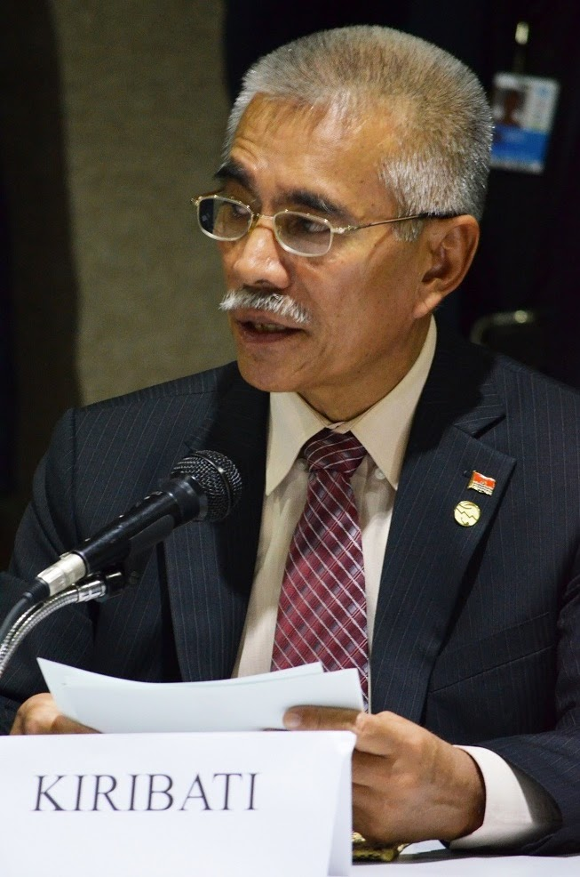 President of Kiribati appeals for global leadership on management of high seas