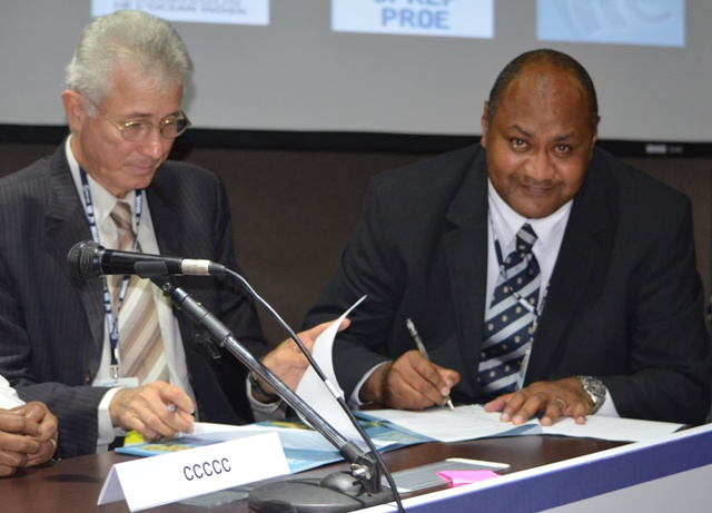 SPREP signs agreement with Indian Ocean Commission