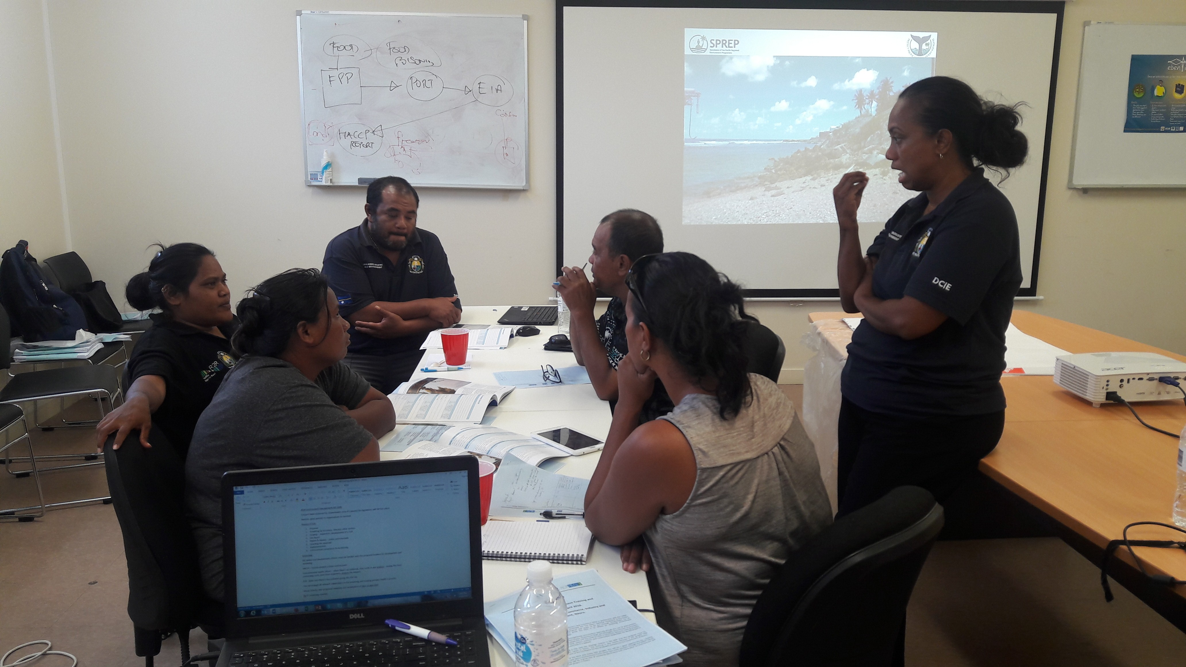 Nauru Department of Commerce, Industry and Environment trained on Environmental Impact Assessment