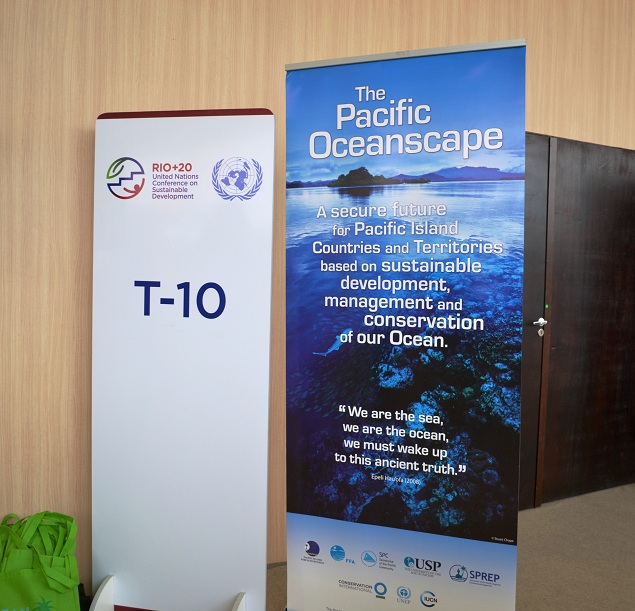 Pacific side event at Rio+20