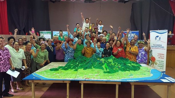 Cook Islands participants with their completed P3D model2 - resized