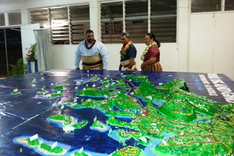 First Participatory 3-D Modelling for environmental planning completed for the Vava'u Island Group of the Kingdom of Tonga