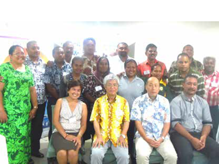 Training for PIC's SWM trainers, Labasa, Fiji