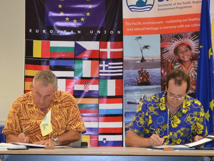 The European Union provides €8 million to the Pacific Region to improve regional waste management