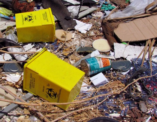 Hazardous waste management for Waste material images