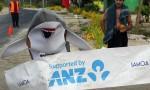 Kat the Shark wins five kilometre Lalomanu race