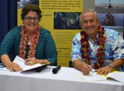 Strengthening partnerships for a better Pacific environment