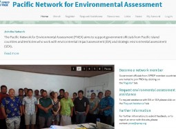 Pacific Network for Environmental Assessment Launched