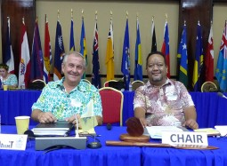 Urgency and purpose on the agenda at Majuro Meeting