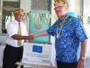 Visiting Commissioner praises SPREP/EU collaboration in the Pacific