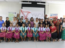 SPREP and YWCA of Samoa Celebrate Girls in ICT Day