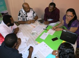 Papua New Guinea National Weather Service Walking the Talk