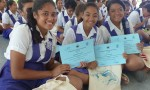SPREP and MNRE commend students of St Mary's College for their commitment to a cleaner Pacific