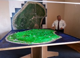 The very first 3-D Model of Nauru, launched