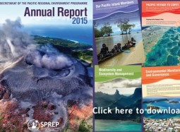27SM Niue News:  2015 SPREP Annual Report is now launched