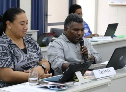 Pacific islanders hone their negotiations skills for global environment conferences