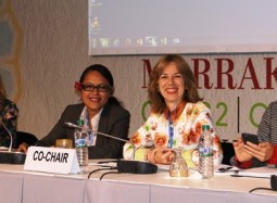 Team Pacific at the UN Climate Change Negotiations in Marrakech, Morocco: Palau and Vanuatu
