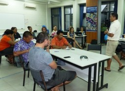 SPREP facilitates range of training seminars for crew of Va'a Gaualofa