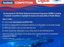 Launch of Protect Pacific Whales Facebook Competition to celebrate World Biodiversity Day