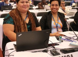 Samoa takes the floor at the CMS COP12 in the battle to protect the blue shark