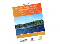 The Pacific guide to project proposal preparation for the Kyoto Protocol Adaptation Fund