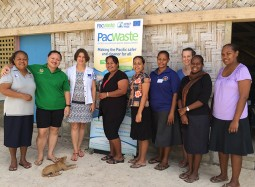 Women in waste: making the Pacific safer and cleaner for all