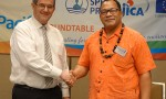 SPREP and University of Newcastle commit to solutions for a sustainable Pacific