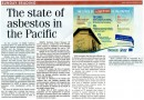 In the news: State of Asbestos in the Pacific