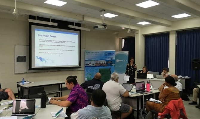 Ms Kalara McGregor, Pacific iCLIM Project Manager (Griffith University)