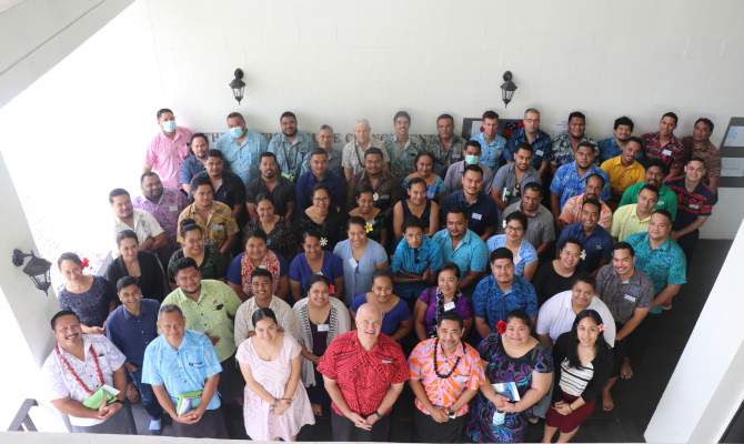 Samoa Geographic Information Systems (GIS) Users' Group Revived at Regional GIS Conference
