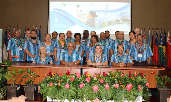 Pacific Met Directors and Council Members of the PMC