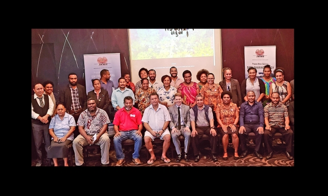 PNG Inform Group Photo