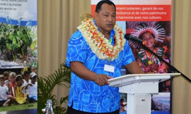 DDG Latu's Opening Speech at the 2nd Pacific Meteorological