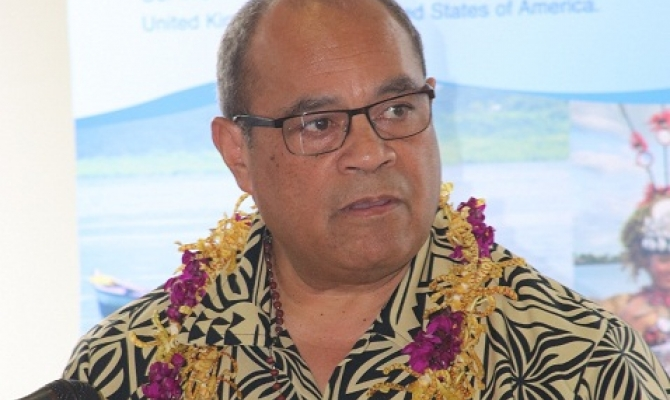 Hon. Aupito William Sio, Minister for Pacific Peoples, New Zeland Government.