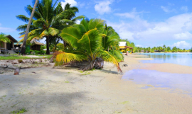 Climate Change Cook Islands image