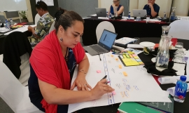 Participant at the regional training course on designing and implementing mutually agreed terms and contracts for access and benefit-sharing