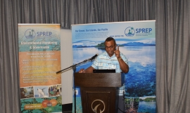 Mr Jope Davetanivalu. Environmental Planning Adviser at SPREP