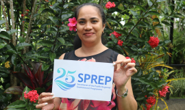 Supporting SPREP's Work Through Financial Accountability and Integrity – Ms Veronica Levi, Financial Accountant