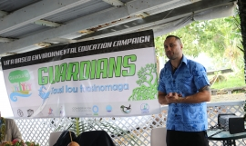 Schannel van Dijken Director of Conservation International Samoa