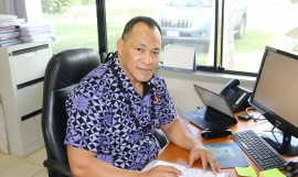 Director General of SPREP Mr Kosi Latu