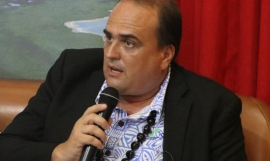 President of Wallis and Futuna, David Vergé.