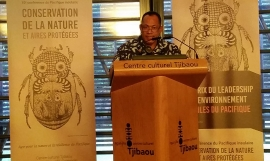 Kosi_Launch of Nature Conference_Noumea