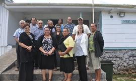 Making waste useful in Niue