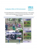 "Terminal Evaluation of UN Environment Project: ""Prevention, control and management of Invasive Alien Species in the Pacific Islands"""