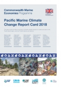 Marine climate change report card