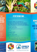 Brochure Tongan version - Before you leave stop and think...
