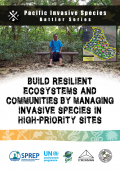 Building resilient ecosystems and communities by managing invasive species in high-priority sites