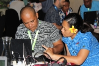 Met officers at the social media workshop held in Nadi, Fiji